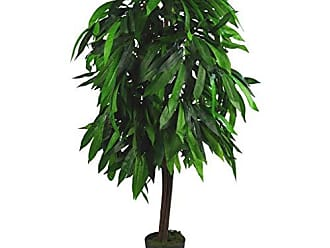 90cm Dark Green Leaf LEAF-7049 Plantes artificielles 90 cm Vert fonc/é