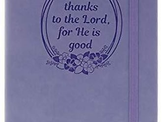 AngelStar Notebook - Give Thanks to The Lord Multicolored