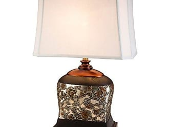 Ore International Ore International K-4217T 28.5H Hoya Table Lamp, Dark Espresso