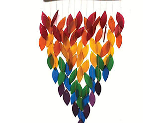Gift Essentials Deluxe Rainbow Waterfall Wind Chime - GEBLUEG543