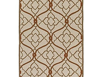 Surya CTY4001-23 Courtyard Brown Area Rug, 2 x 3, Camel/Beige/Burnt Orange