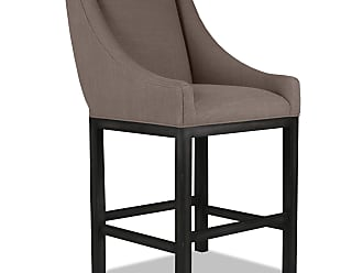 SOUTH CONE Hollywood 30 in. Bar Stool - VANBS30/CHARCOAL
