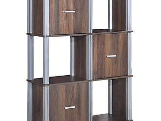 Costway 3 Tiers 6 Cubes Storage Cabinet Shelf Bookcase