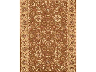 Noble House Harmony Area Rug - Green/Gold, Size: 8 x 11 ft. - HAR902811