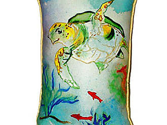 Betsy Drake SN098 Betsys Sea Turtle Pillow 11 x14