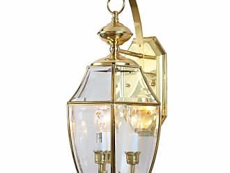 Volume Lighting V9710 3 Light 20 Tall Outdoor Wall Sconce Polished