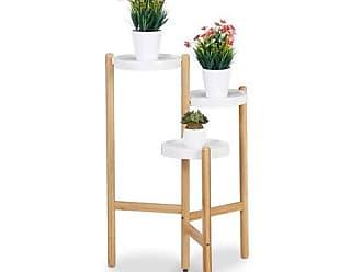 Blumenständer Metall Paravent Blumenregal Blumentreppe Pflanzenständer 6 Ablagen