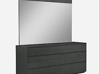 Whiteline Malibu 6-Drawer Dresser with Optional Mirror - WHIT608-1