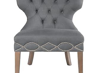 Uttermost Shafira Gray Armless Chair