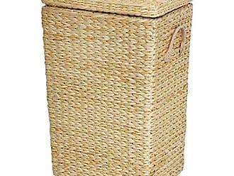 Oriental Furniture Rush Grass Laundry Basket - Natural