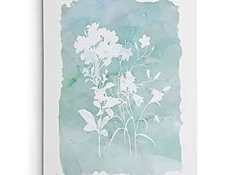 WEXFORD HOME Carol Robinson Silhouette Botanical III Gallery Wrapped Canvas Wall Art, 36x48