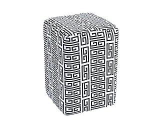 Daf Mobiliário Puff Box Retangular Estampado C01 - Daf Mobiliário