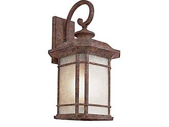 Trans Globe Lighting PL-5822 RT Outdoor San Miguel 20 Wall Lantern, Rust