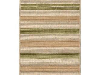 Liora Manne Terrace Multi Stripe Indoor/Outdoor Area Rug Orange - TER23276274