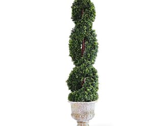 National Tree Company 54 in. Double Cedar Spiral Tree - LCDS4-705-54