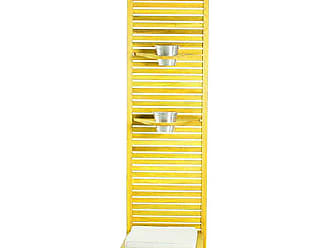Mão & Formão Jardim Amarelo Vertical Zen Estreito Completo com Almofada BrancaAmarelo