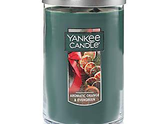 Yankee Candle Company Yankee Candle Large 2-Wick Tumbler Candle, Aromatic Orange & Evergreen