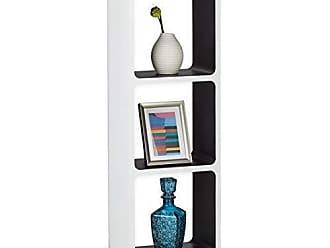 Relaxdays Étagère Murale Avec 3 Casiers Plateau 90 X 30 Cm Salon Décoration  Support Tablette Mur