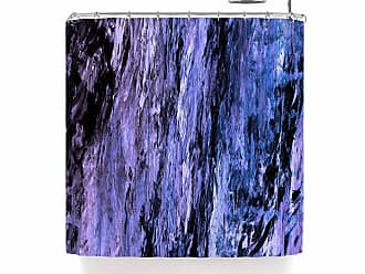 Kess InHouse Jackie Rose The Mountains are Calling Purple Typography 69 x 70 Shower Curtain