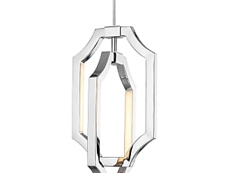 Feiss Audrie 4 Bulb Polished Nickel Pendant