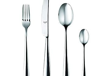 Mepra 107122024 24 Piece Stoccolma Cutlery Set, Stainless Steel