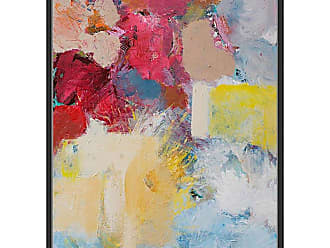 Ptm Images Paint Leftovers Framed Canvas Wall Art - 9-74306