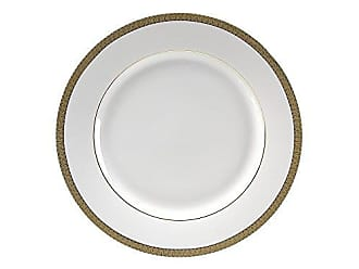 10 Strawberry Street Luxor 9.215 Luncheon Plate, Set of 6, Gold