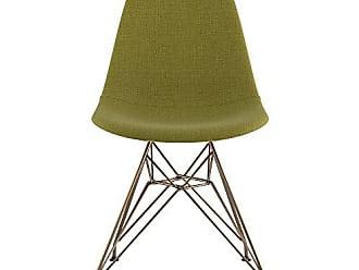 NyeKoncept 331002EM2 Mid Century Eiffel Side Chair, Avocado Green