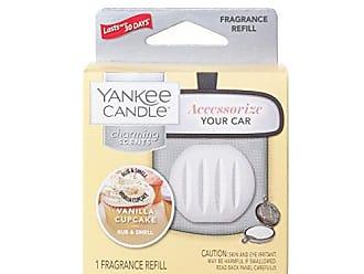 Yankee Candle Company Charming Scents Car Air Freshener Refill, Vanilla Cupcake