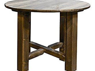 Montana Woodworks MWHCBTSL36 Homestead Collection Counter Height Round Bistro Table, Stain & Lacquer Finish