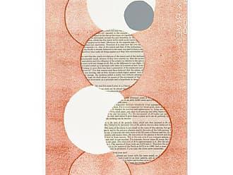 Ptm Images Light Orange Word Bubble Framed Canvas Wall Art - 9-113414