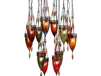 Fine Art Lamps 718540-6ST Scheherazade Twelve-Light Multi-Light