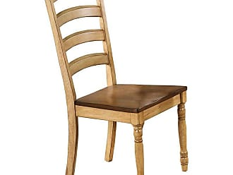 Winners Only Quails Run Ladder Back Dining Side Chair - Set of 2 - WIN243-1