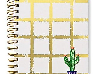 Gartner Studios Mara Mi 24200 Gartner Studios Gold Grid Notebook with Cactus Patch