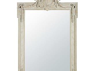 maisons du monde miroir moulures effet vieilli 109x165 milord