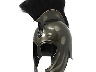 Urban Designs War Armor Helmet, Dark Grey Antique Replica Trojan