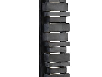 Feiss Ledgend 18 LED Outdoor Sconce in Dark Weathered Zinc