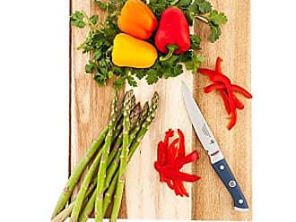 Restaurantware Sensei Blue - 5-inch Utility Knife - Durable Japanese VG-10 Steel - Professional Chefs Damascus Kitchen Knife - Stain Resistant - Restaurantware