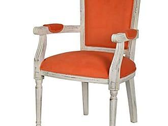 Benzara Well-Designed Decent Chair, Orange