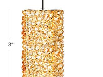 WAC Lighting MP-LED939-LQ Haven Single Light 4-1/2 Wide LED Crystal