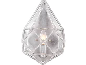 Feiss Marquise 1 Bulb Silver Wall Sconce