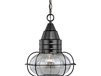 Vaxcel Lighting T0284 Chatham Brass Single Light 13 Wide Outdoor