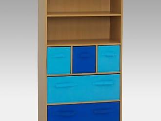 4D Concepts Storage Bookcase - Blue