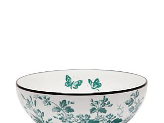Gucci Herbarium Verde Porcelain Salad Bowl - Womens - Green Multi