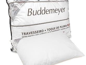 Buddemeyer Travesseiro Buddemeyer Matelassê Toque De Pluma Plus 50x70cm Branco