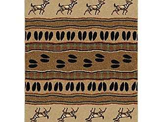 Orian Rugs Oxford White Tail Bisque Area Rug, 53 x 76, Beige