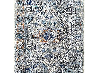 Home Dynamix Shabby Chic Heritage Newburyport 39-705 Area Rug 710x102, Vintage/Distressed Bohemian Gray/Blue/Ivory