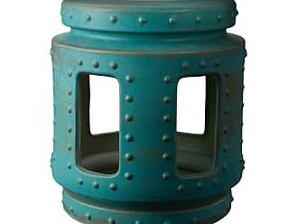 Dimond Home Copper Patina Throne Stool