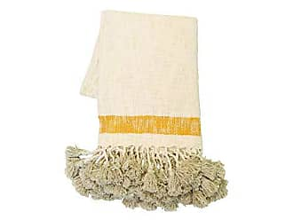 Foreside Home And Garden Hand Woven West Throw