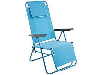 Dajar 464992 Klappstuhl Riposo D027-11TB Patio Blau 104 x 64 x 70 cm